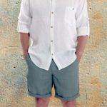 Pánská košile 3/4 rukáv PAVEL 850,-